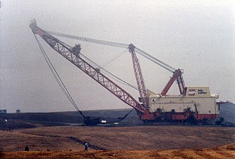 Big Muskie - Big Muskie prior to demolition in Ohio, February 1999.