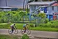 Bike Racing Hampton Court - panoramio.jpg