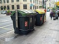 Bilbao's style of sidewalk recycling bins (18620015188).jpg