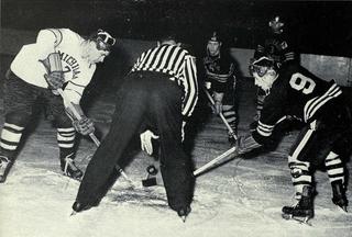 Bill MacFarland Ice Hockey player