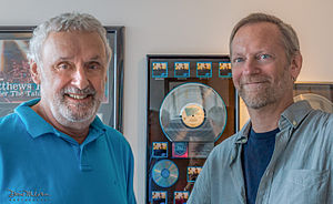 Bill Szymczyk - Bill Szymczyk (left) and Ted Jensen at Sterling Sound 2014