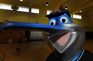Billy the Marlin - Billy the Marlin after the team's rebranding in 2011