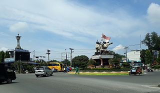 Binjai City in North Sumatra, Indonesia