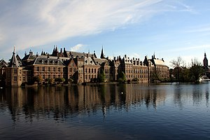 Politics and government of the Dutch Republic - The Binnenhof in the Hague, the center of Dutch political life.