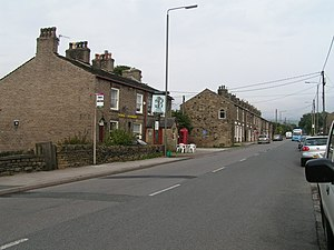 Birch Vale - The Vine Tavern, Birch Vale (now closed)