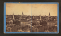 Bird's eye view, looking North West from Insurance building, by W. H. Sherman.png