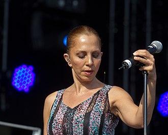 Sertab Erener - Erener performing in June 2014