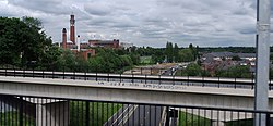 Birmingham MMB 27 University of Birmingham and A38.jpg