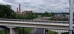 Birmingham MMB 27 University of Birmingham and A38.jpg