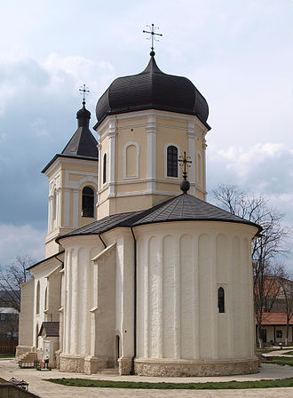 Căpriana monastery - Image: Bise