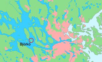 Björkö, Ekerö - Björkö in Lake Mälaren, Sweden