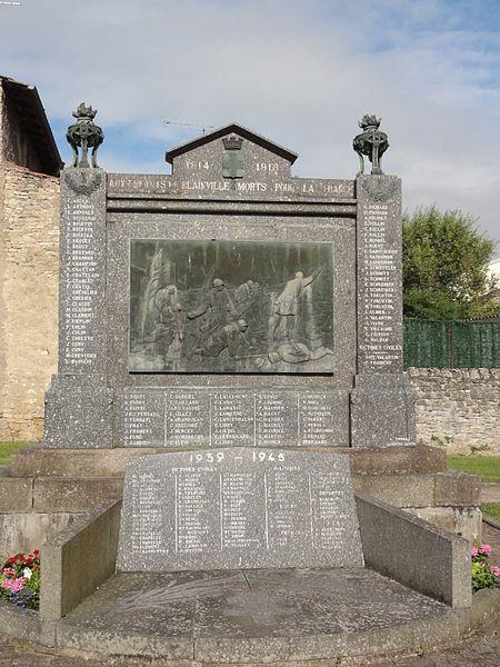 Blainville-sur-l'Eau (M-et-M) monument aux morts