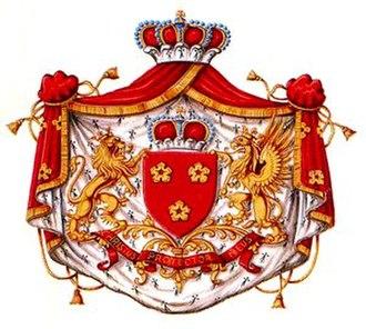 House of Arenberg - Image: Blason fam de be Arenberg 1