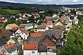 Blick vom Wohnturm-Bergfried auf Burgsponheim 1.jpg