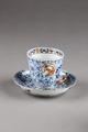 Blommig kopp från Japan gjord på 1700-talet - Hallwylska museet - 96022.tif