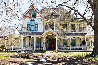 National Register of Historic Places listings in Nacogdoches County, Texas - Image: Blount House 1 (1 of 1)