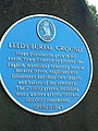 Blue plaque, Beckett Street Cemetery, Leeds - geograph.org.uk - 202241.jpg
