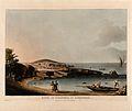Boatmen at the Baths of Cleopatra at Alexandria, Egypt. Colo Wellcome V0012144.jpg