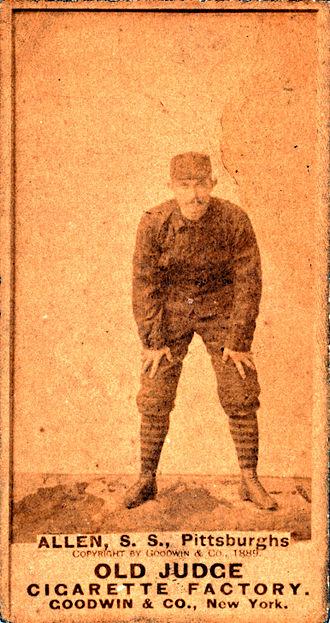 Bob Allen (shortstop) - Bob Allen in 1889