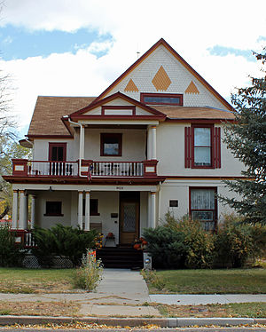 National Register of Historic Places listings in Chaffee County, Colorado - Image: Bode Stewart House