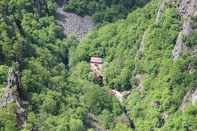 Königsruhe in Bode gorge