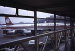 Boeing 707 G-AYSL Dan Air at LGW, 1974.jpg
