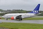 Boeing 737-683 'SE-DNX' Scandinavian Airlines System (31103190748).jpg