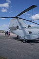 Boeing Vertol CH-46E Sea Knight DeptState 156419 N419WL RRear Rotor TICO 16March2014 (14486708557).jpg