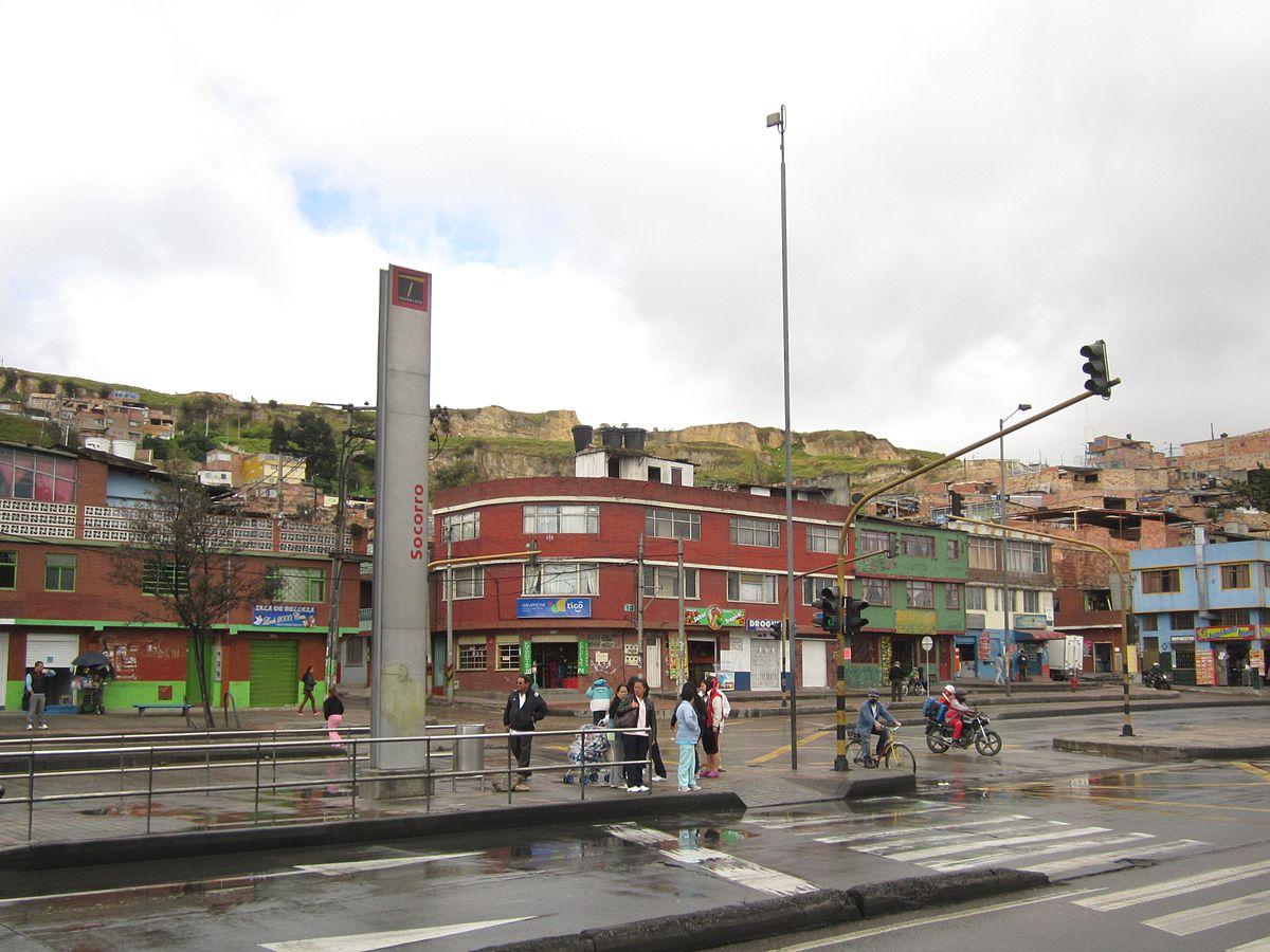 Socorro estaci n wikipedia la enciclopedia libre for Barrio ciudad jardin sur bogota