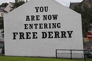 Free Derry Corner - Image: Bogside (16), August 2009