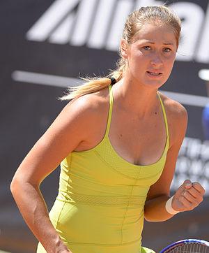 Bojana Jovanovski - Jovanovski at the 2015 Internazionali BNL d'Italia