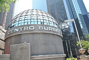 Mexican Stock Exchange - The Stock Exchange Centre in 2012