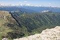 Bolshoy Tkhach, Adygea, Большой Тхач, вид на Главный Кавказский хребет, Адыгея.jpg