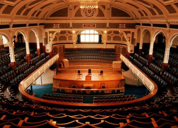 Bolton Victoria Hall Interior