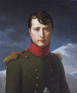 François Gérard - Image: Bonaparte premier Consul Gérard Chantilly