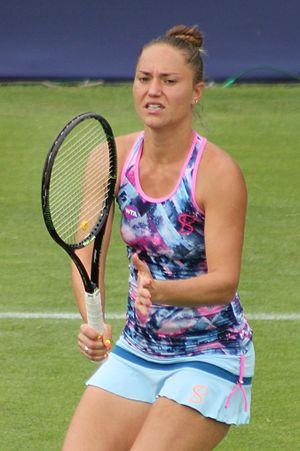 Kateryna Bondarenko - Bondarenko at the 2016 Aegon Classic Birmingham