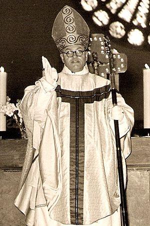Bonifatius Becker - Bonifatius Becker after his Consecration as Abbot in 1956