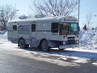 Toronto Public Library - The Toronto Public Library operates two bookmobiles.