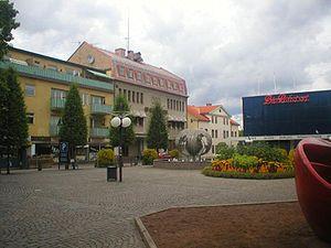 Borlänge - Sveatorget in Borlänge