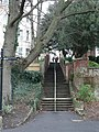 Boscombe Chine Gardens, steps to Owls Road - geograph.org.uk - 646447.jpg