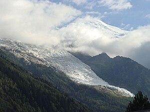 Bossons Glacier - Bossons Glacier in 2014