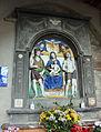 Bottega di giovanni della robbia, madonna in trono tra i ss. giovanni battista e sebastiano, 1524, 02.JPG