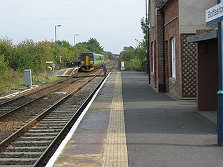 Bottesford railway station Railway station in Leicestershire, England