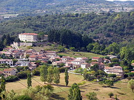 A general view of Boucieu-le-Roi