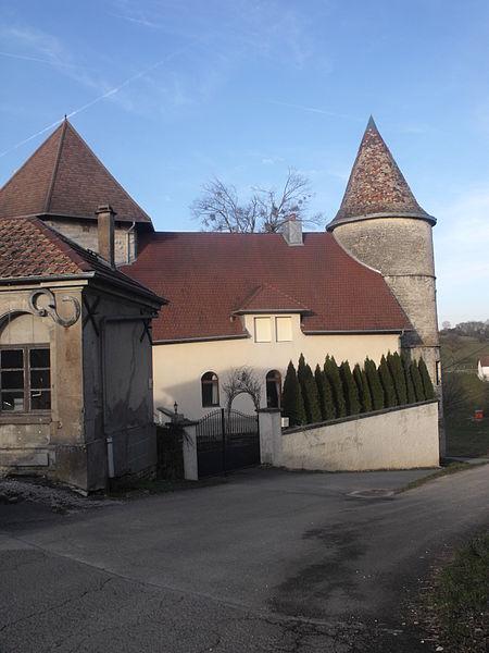 Maison à tours, Bouclans, Doubs, France