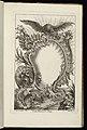 Bound Print, Cartouche with Eagle, Livre de Cartouches Irréguliers (Book of Irregular Cartouches), 1738 (CH 18238037).jpg