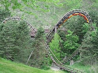 Dragon Mountain - The Bowtie element on Dragon Mountain