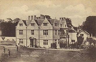 Boyton, Wiltshire - Image: Boyton Manor, Wiltshire