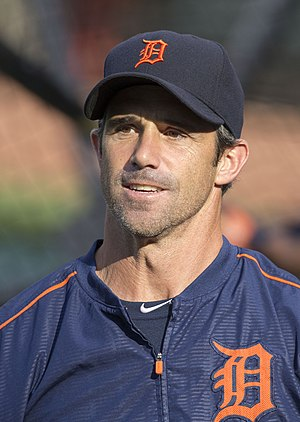 Brad Ausmus - Ausmus with the Detroit Tigers in 2015