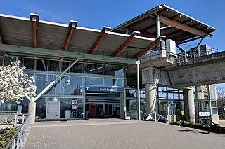 Braid station Metro Vancouver SkyTrain station